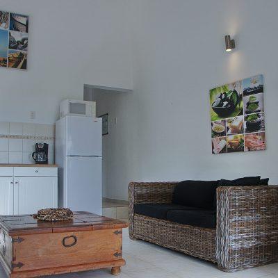 Binnenkant appartement Curacao